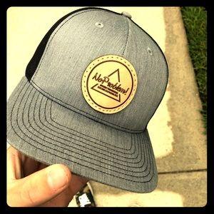 NoProblem! leather logo patch Richardson 112 hat